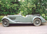 Property of a Deceased Estate,1937 Talbot BI 105 Speed Tourer 4096