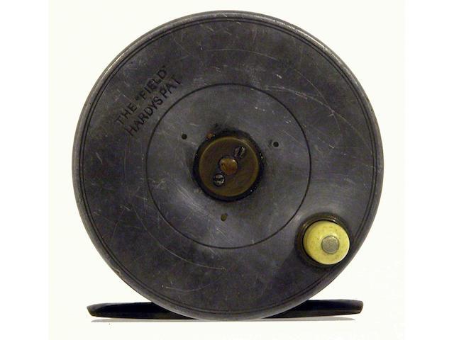 A Hardy The 'Field' alloy fly reel 3 3/8in
