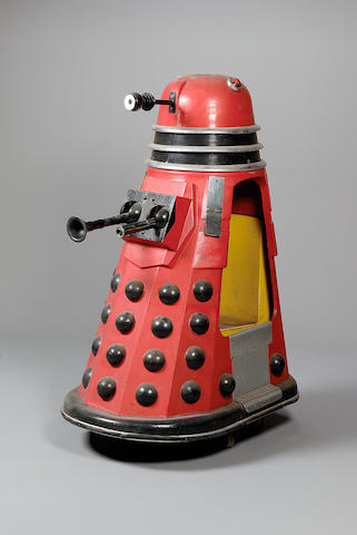 Dr. Who Fairground Dalek