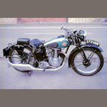 1937 BSA 249cc B22 Empire Star