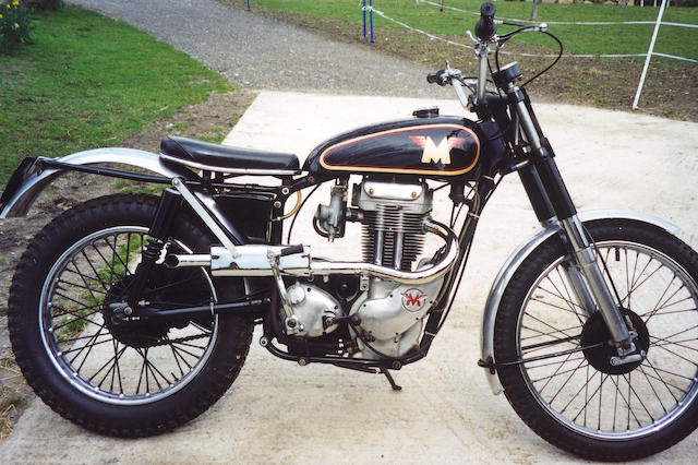 1961 Matchless 350cc G3C Trials