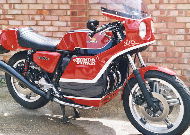 c.1979 Honda CB750 Phil Read Replica