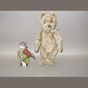 Steiff Teddy bear, German circa 1950 2