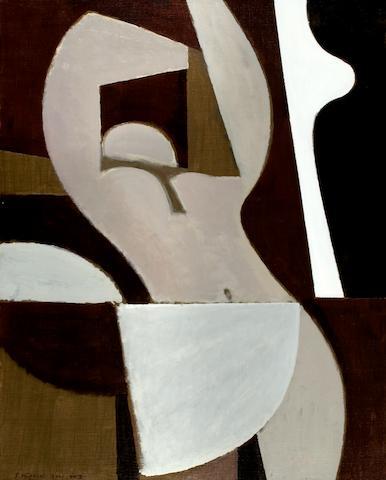 Yiannis Moralis (b.1916) Erotikon 100.5 x 81 cm. (39 1/2 x 31 7/8 in.)