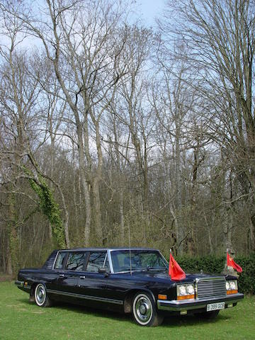ex East German President Honecker Limousine,1985 ZIL 115 Limousine  Chassis no. 174 Engine no. 174