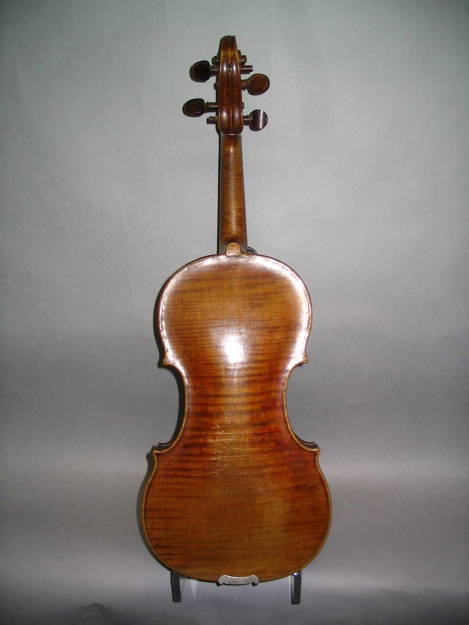 An Bohemian Violin of some quality, circa 1890