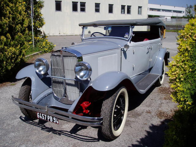 1929 Graham-Paige Type 612 Tourer  Chassis no. 856273