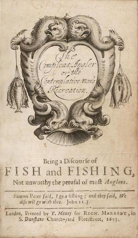 WALTON Compleat Angler, 1653