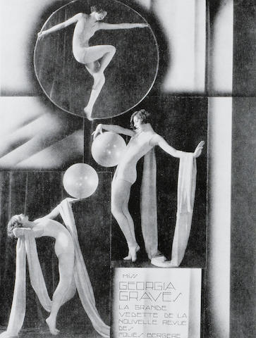 Ferdinand Preiss 'Balancing' a Fine Cold-Painted Bronze and Carved Ivory Figure, circa 1925