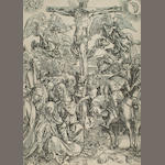 After Albrecht Dürer (see Bartsch, 11) The Crucifixion.