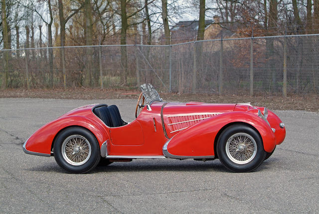 The Ex-Scuderia Subalpina, Mille Miglia, Briggs Cunningham Collection,1935 Maserati 4CS-1100/1500  Chassis no. 1124