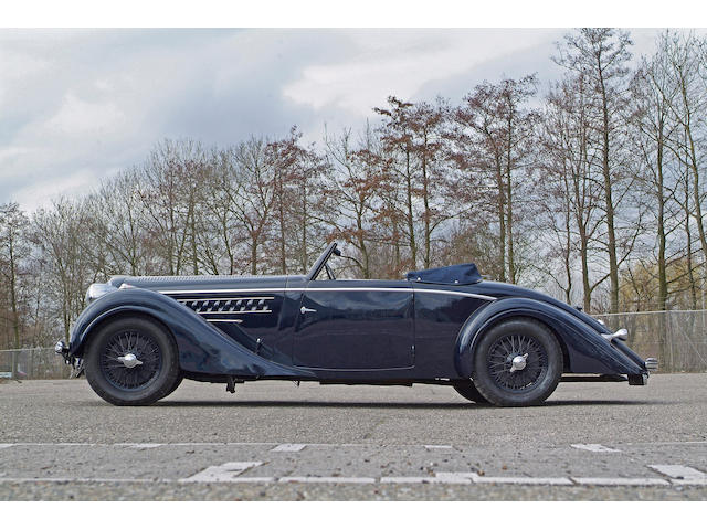 1938 Delahaye 135M Cabriolet  Chassis no. 47538 Engine no. 234851