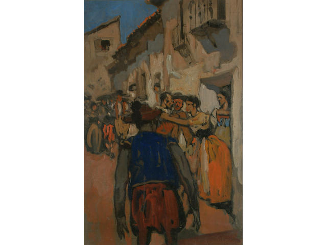 Frank Brangwyn (British, 1867-1956) Saragossa.