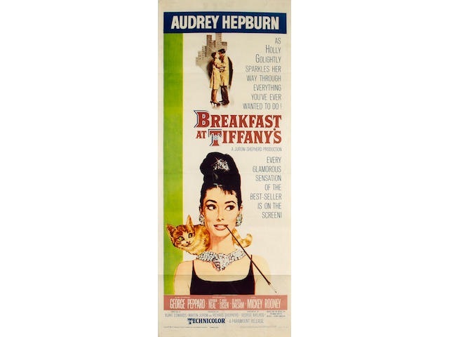Breakfast At Tiffany's, 1961 US Insert