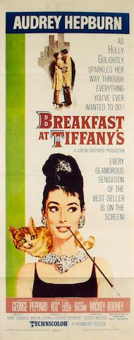 Breakfast At Tiffany's, 1961 US Insert