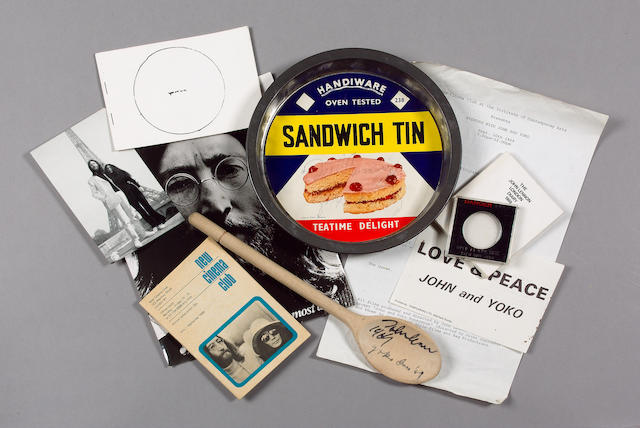 A John and Yoko ICA event pack,  1969,