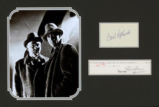 Sherlock Holmes Autographs
