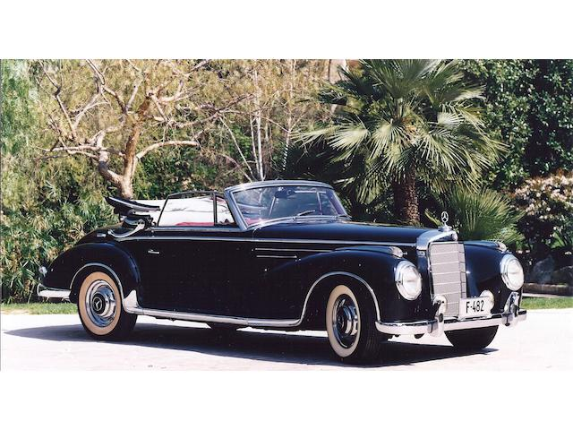 1957 Mercedes-Benz 300Sc Cabriolet  Chassis no. 188013-500019 Engine no. M199980-7500051