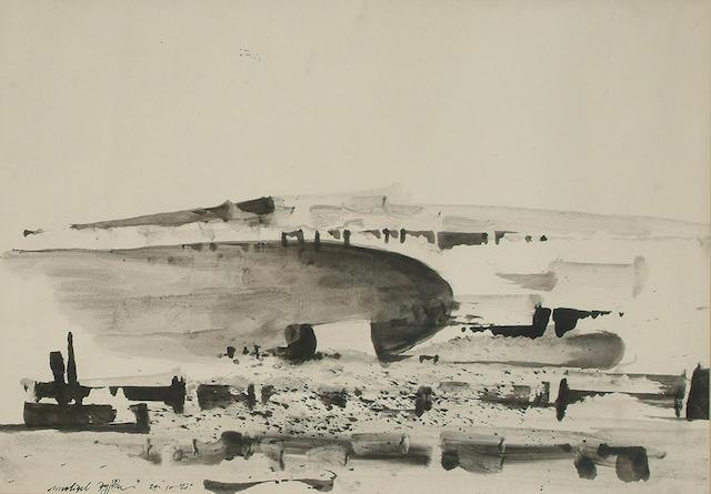 Michael Ayrton (British, 1921-1975) Cycladic Landscape, 1960.