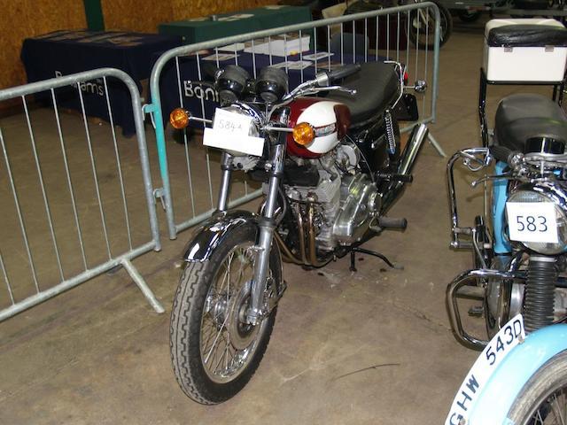 1975 Triumph T160 750cc Trident  Frame no. GK 04619 Engine no. GK 04619