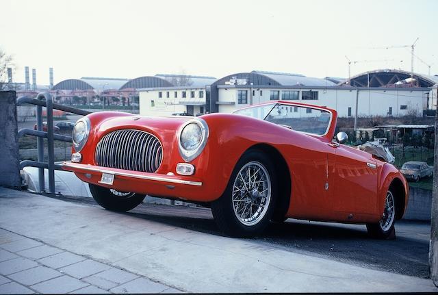 1947 Cisitalia 202 Cabriolet  Chassis no. 021 Engine no. 021