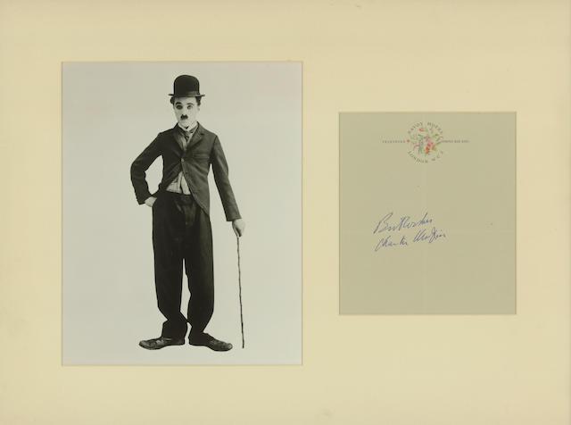 Charlie Chaplin Signature