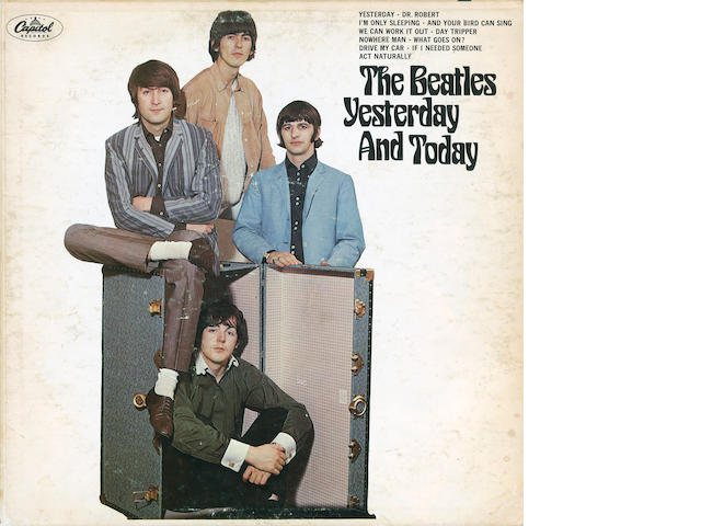 The Beatles 'Yesterday And Today' album,