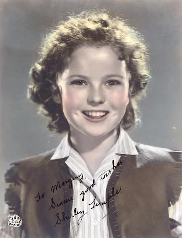 An unusual collection relating to Shirley Temple, 1930s-40s,
