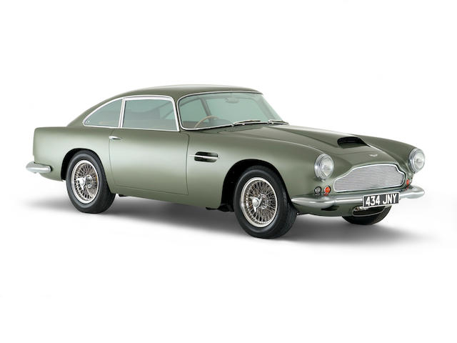 1960 Aston Martin DB4 Series 2 Saloon DB4/493/R