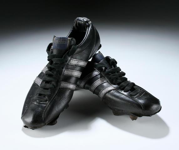 Tommy Gemmell match worn boots