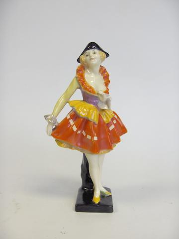 Chorus Girl, A Rare Figure