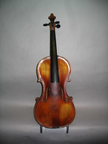 A good Mirecourt Violin of the Caussin School circa 1880
