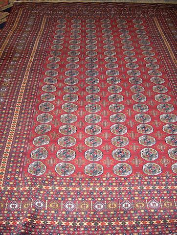 A Tekke carpet West Turkestan, 310cm x 221cm