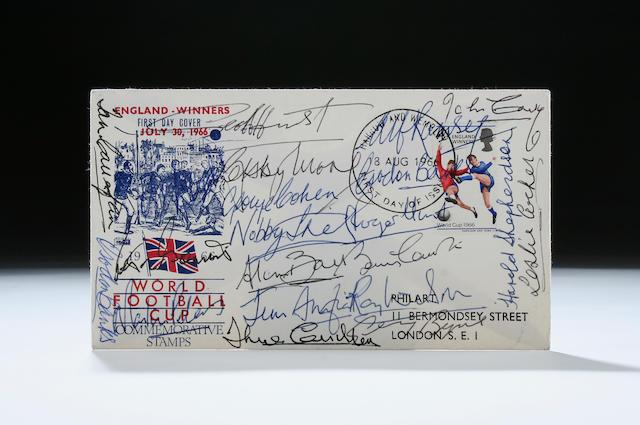 1966 signed F.D.C.