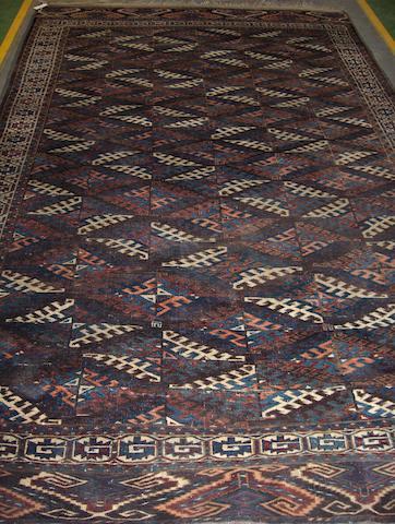 A Yomut carpet West Turkestan, 324cm x 193cm