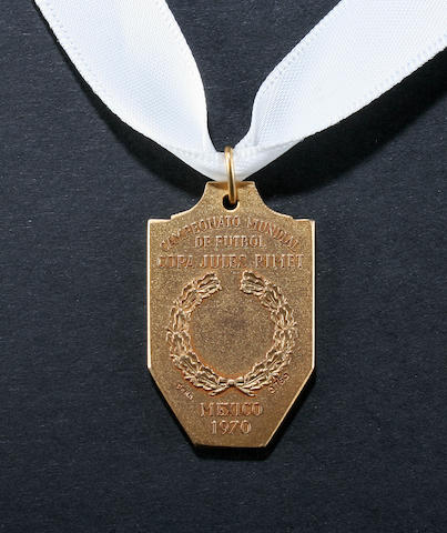 A World Cup winner's medal 1970