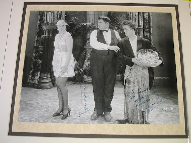 Laurel and Hardy Autographs