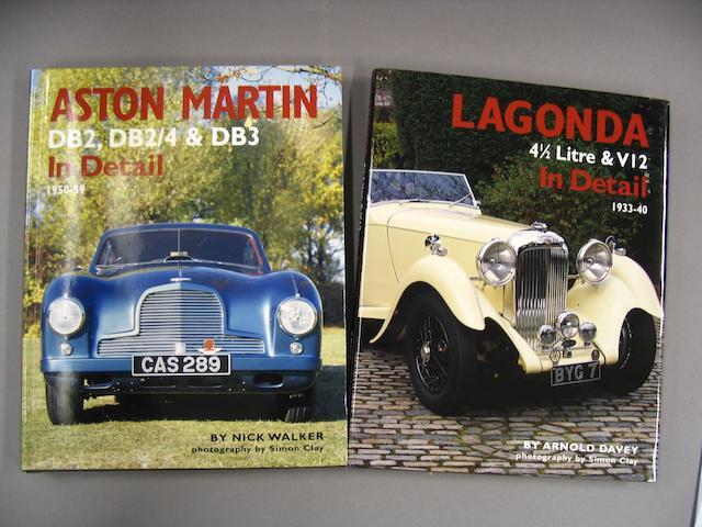 Nick Walker: Aston Martin DB2, DB2/4 & DB3 In Detail 1950-59;