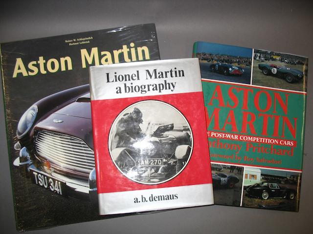 Six Aston Martin books