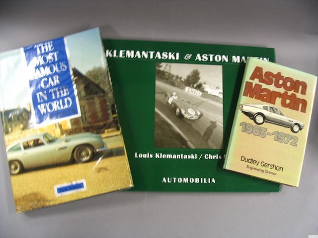 Six Aston Martin books,