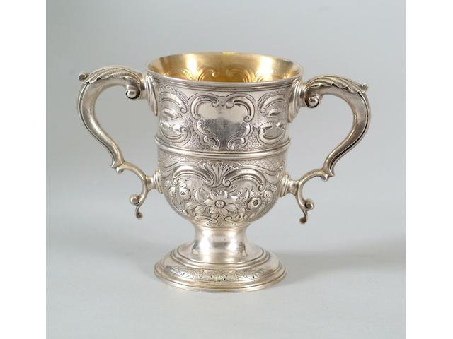 A George III two handled cup Charles Woodward?, 1771,