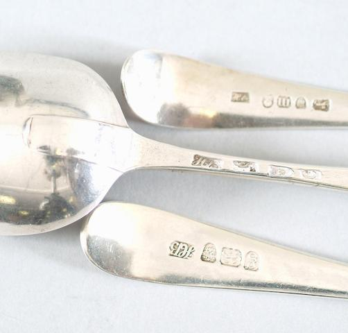 A pair of tablespoons Hester Bateman, 1787,
