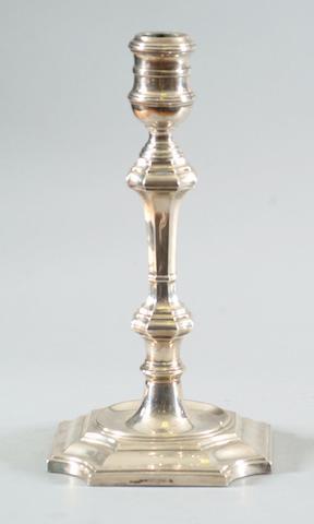 A candlestick Elkington & Co, Birmingham 1928,
