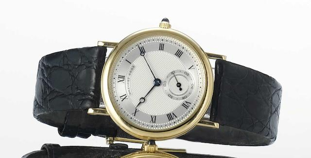 Breguet. A fine 18ct gold wristwatch No.4853C, 1990s