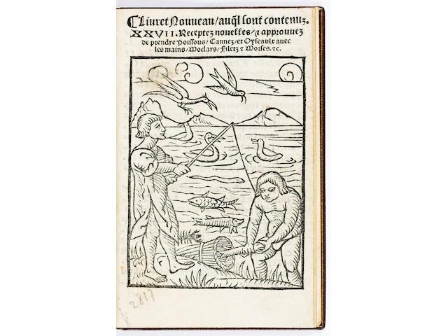 BOECXKEN, in French Livret nouveau auq[ue]l sont contenus XXVII receptes nouvelles, approuves de pre