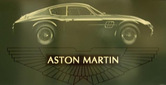 Tony Upson: profile study of Zagato bodied Aston Martin,