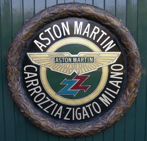 Tony Upson: Aston Martin Zagato roundel,