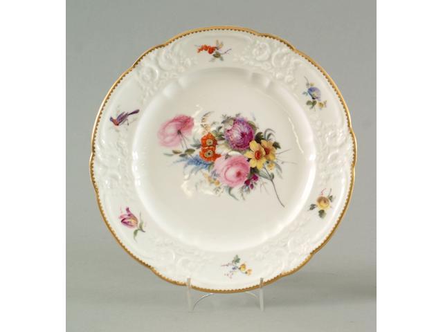 A good Nantgarw plate circa 1818-20