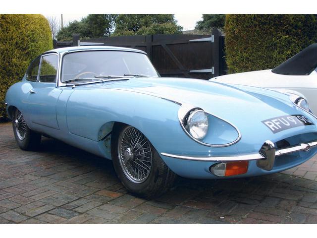 1968 Jaguar E-Type 4.2-Litre Series II Coupé  Chassis no. 1R20001 Engine no. 7R10109
