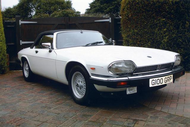 1989 Jaguar XJ-S V12 Convertible  Chassis no. SAJJNADW3DB104781 Engine no. 8S070638SA